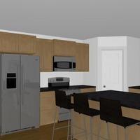 Medium modern modular home 3d plan 1170x738