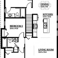 Medium 0 floor plan 1 p
