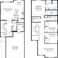 Medium parker floorplan
