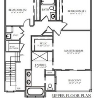 Medium skydeck upper floor plan