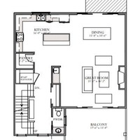 Medium skydeck main floor plan
