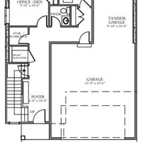 Medium skydeck lower floor plan