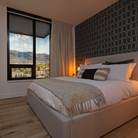 Medium bedroom panorama