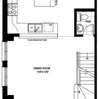 Medium model home lot72 blockg main floor fp