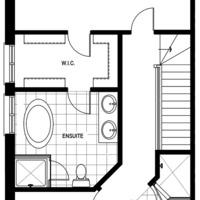 Medium model home lot72 blockg second floor fp