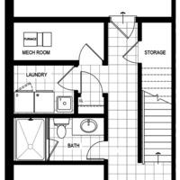 Medium model home lot72 blockg ground floor fp