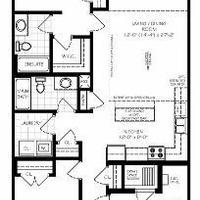 Medium interior without loft