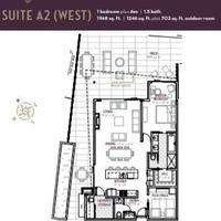 Medium suite a2 west