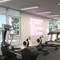 Medium fitness centre