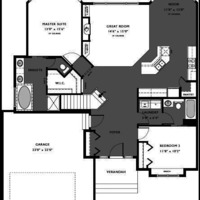 Medium columbia floor plan