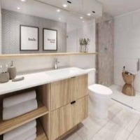 Medium bathroom
