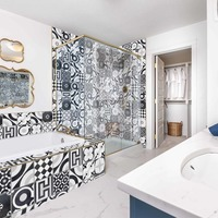 Medium boho chic ensuite tile edited bw 1 1