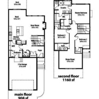 Medium floor plan