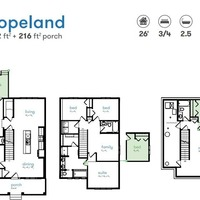 Medium floorplan