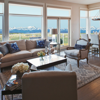 Medium villas at watermark   the cascade living and dining room with view