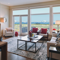 Medium villas at watermark   the glasgow living room with view