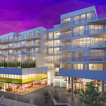 Large square avli on atlantic new homes
