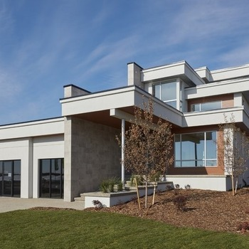 Large square showhome exterior