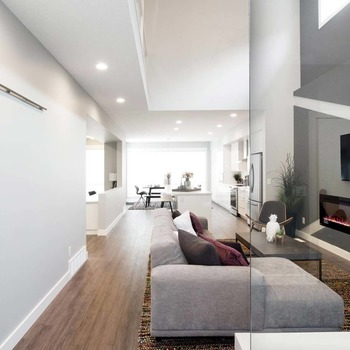 Large square custom home builder in edmonton floorplans gensis 9