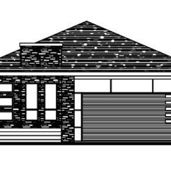 Large square elevation