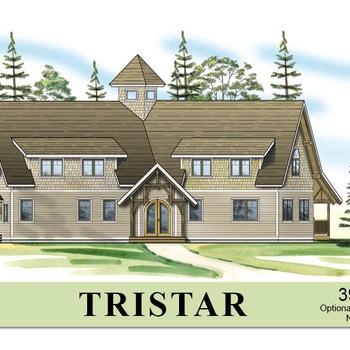 Large square tristar