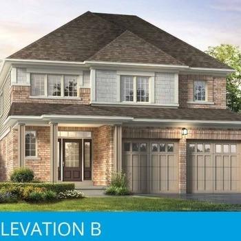 Large square elevation b