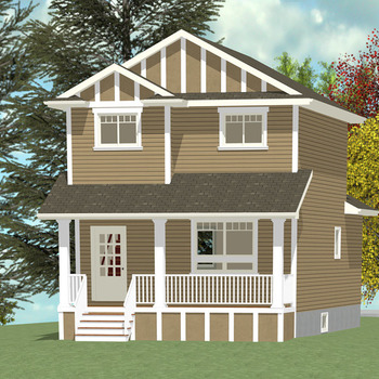 Large square 2 story 7 1384 sq ft ws 01