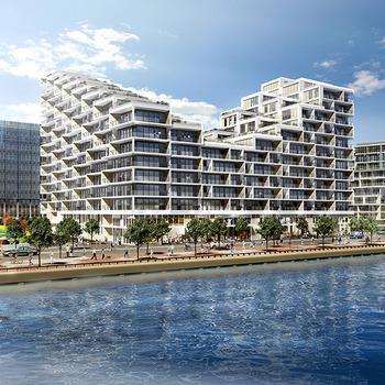 Large square building design