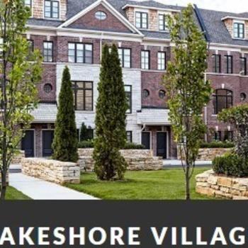 Large square lakeshore