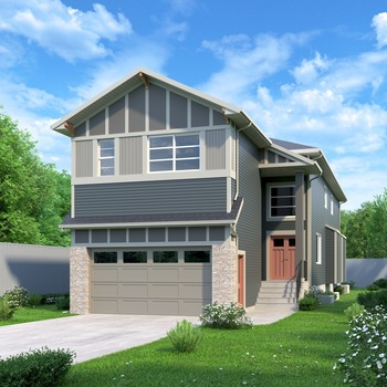 Large square diefenbaker showhome