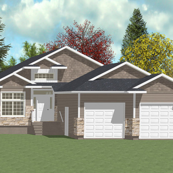 Large square walkout bungalow 2 1670 sq ft ws 1 01