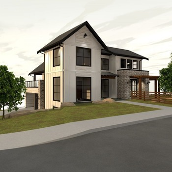 Large square 775 brnaby rendering front