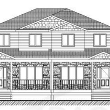 Large square duplex