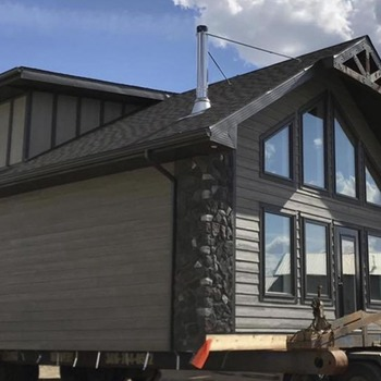 Large square two story modular cottage design 1170x738