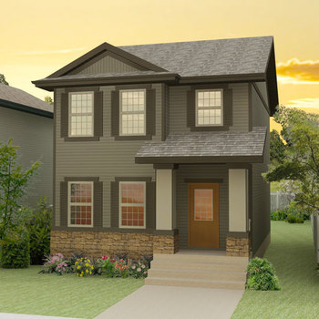 Large square amberly new homes