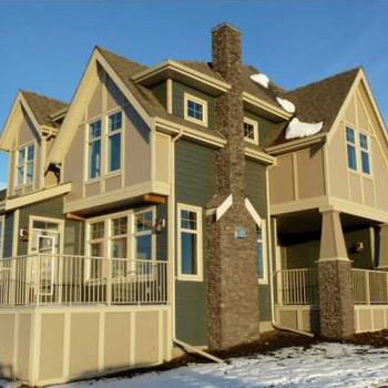Large square harder homes
