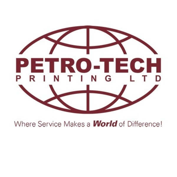 Full petro tech master logo with tag line one colour 188c